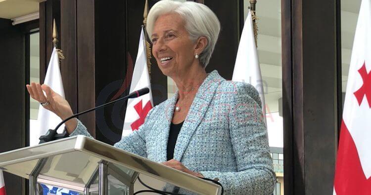 كرستين لاجارد .. مدير عام صندوق النقد الدولي (المصدر: حساب تويتر)